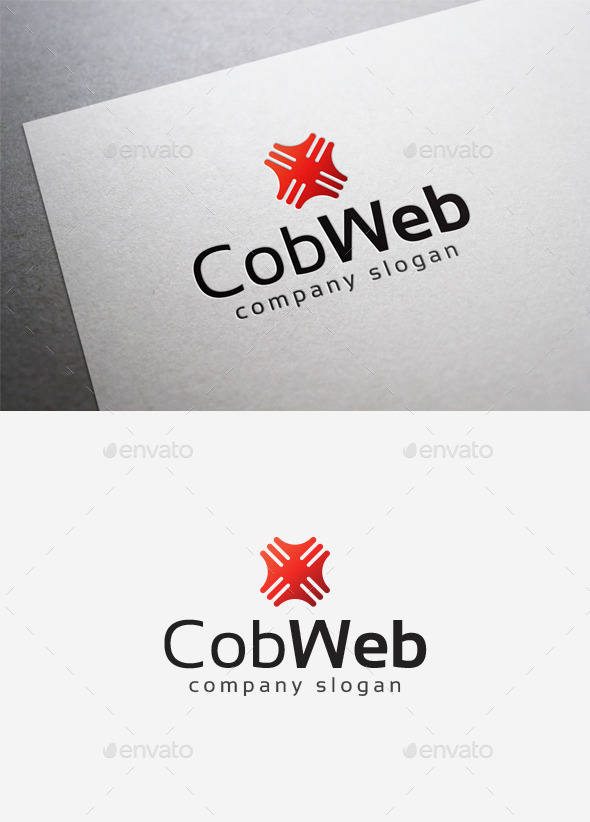 Cob Web Logo - Abstract Logo Templates