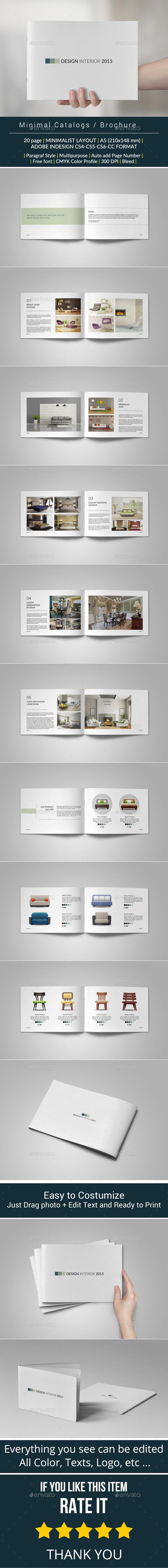 Minimal Catalogs / Brochure / Portfolio - Catalogs Brochures