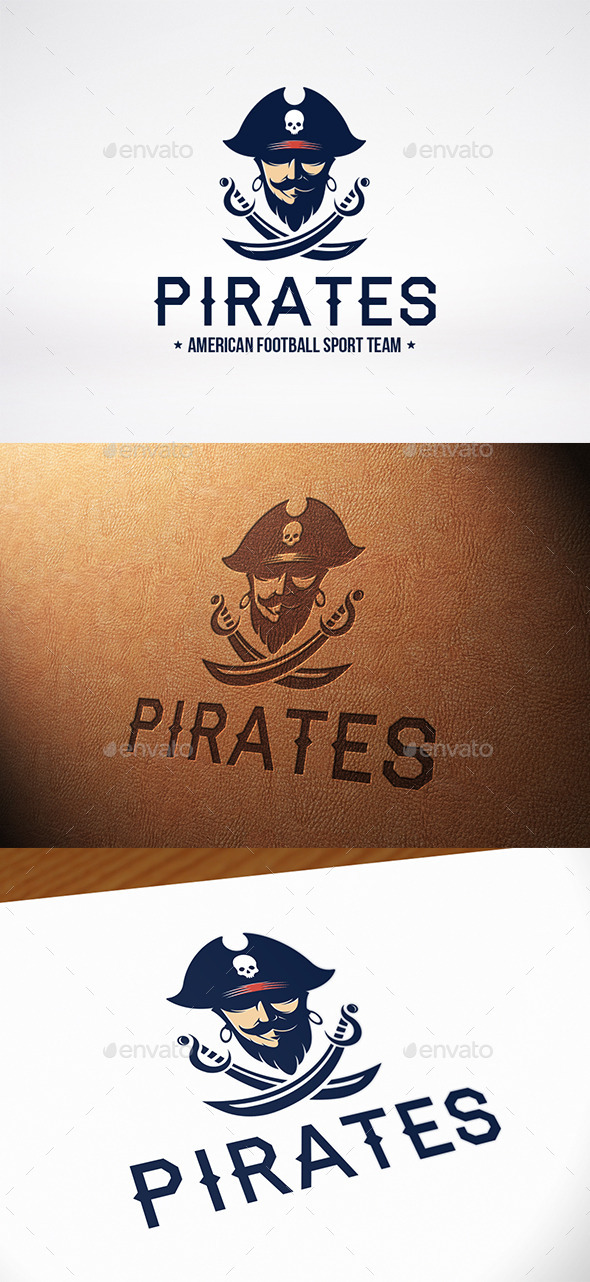 Black Beard Logo Template - Humans Logo Templates