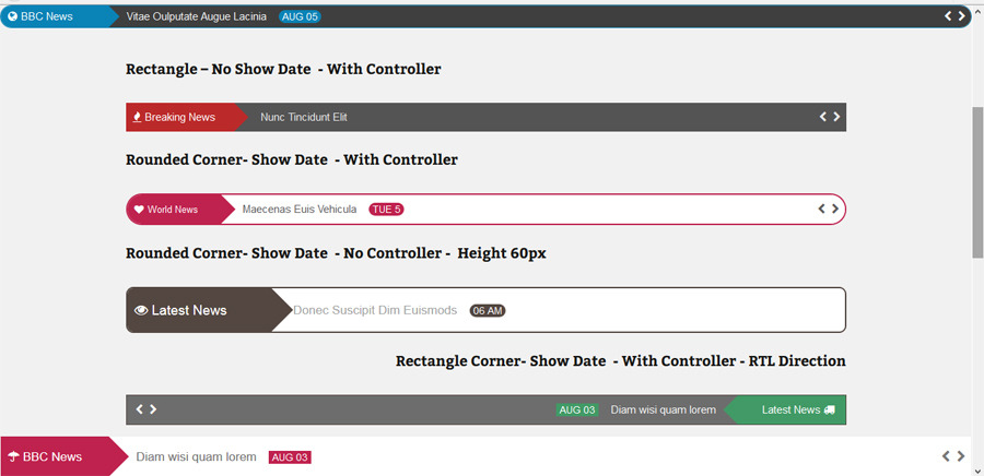 Post Layout : News Ticker for Visual Composer by proword | CodeCanyon