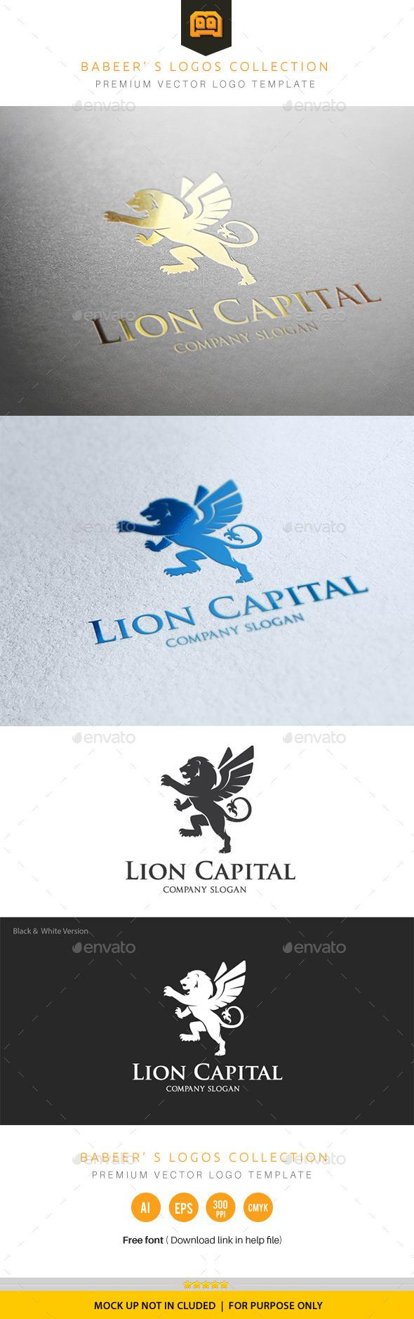 Lion Capital - Animals Logo Templates