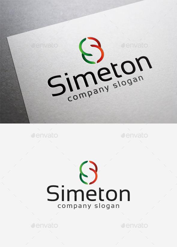 Simeton Logo - Letters Logo Templates