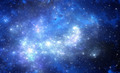 Blue space nebula - PhotoDune Item for Sale