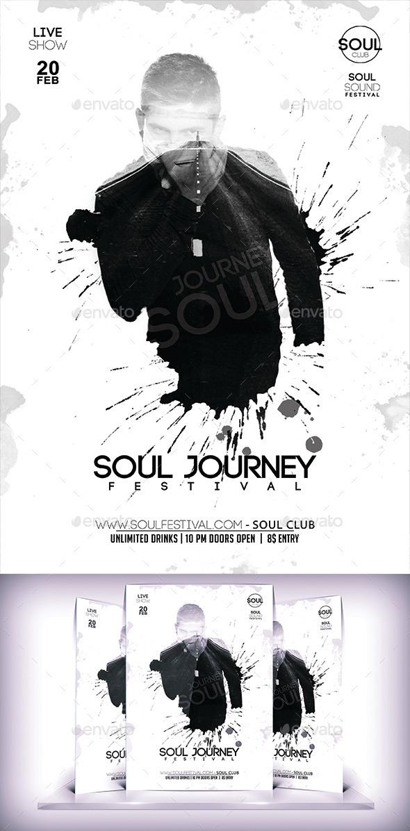 Soul Festival Flyer - Flyers Print Templates