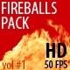 Fireballs vol#1 - VideoHive Item for Sale