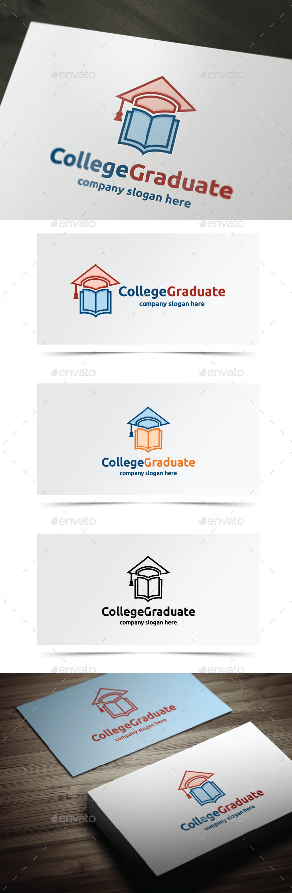 College Graduate - College Logo Templates