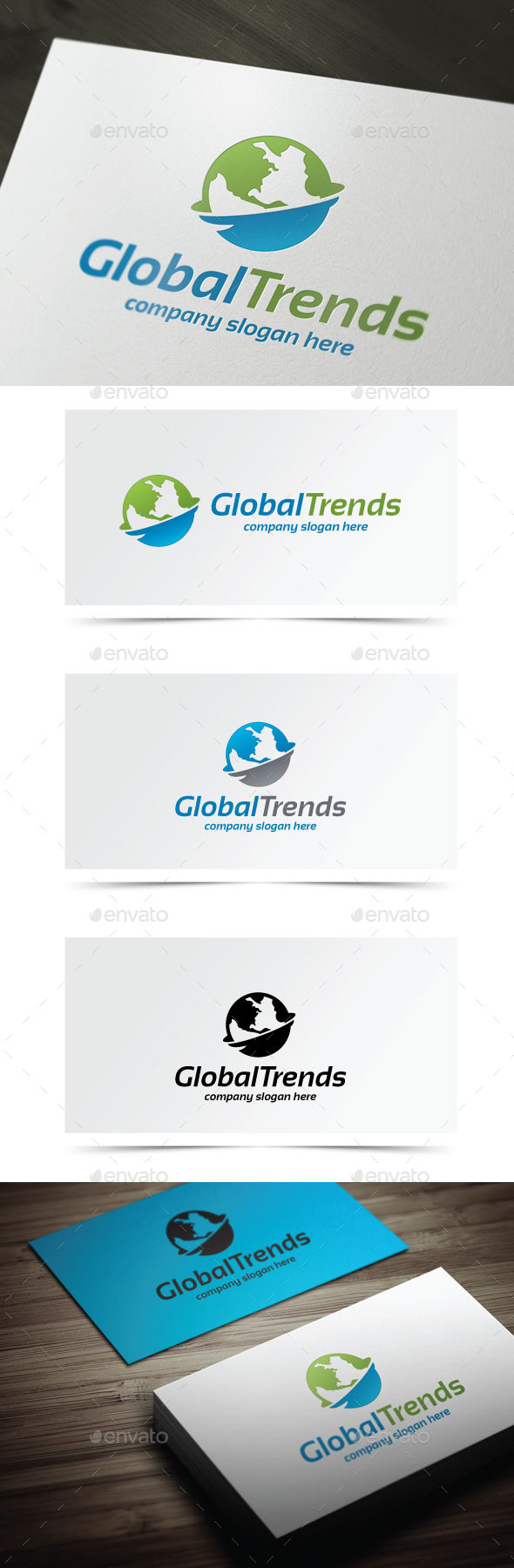 Global Trends - Objects Logo Templates