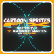 Cartoon Sprites FX (Electricity 2)