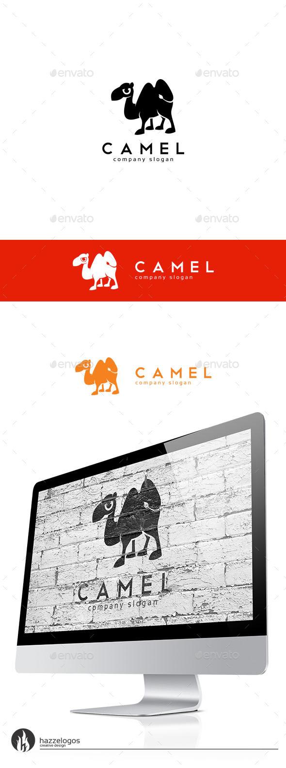 Camel Logo - Animals Logo Templates