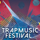 Abstract Flyer Template - Trapmusic Festival - GraphicRiver Item for Sale