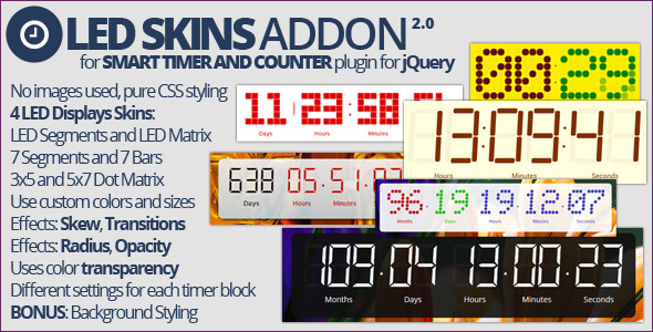 Smart Timer and Counter: LED Skins Addon