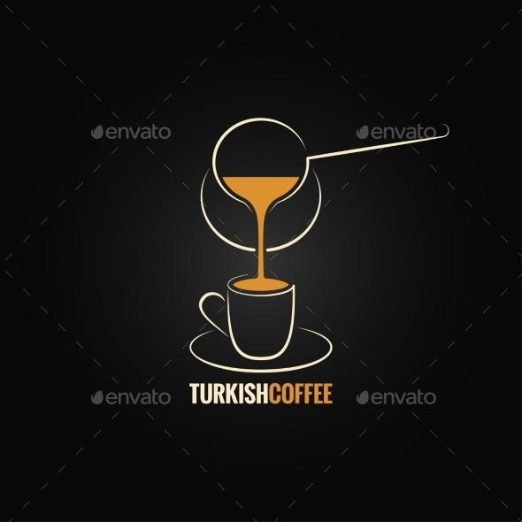 Turkish Coffee - Food Objects