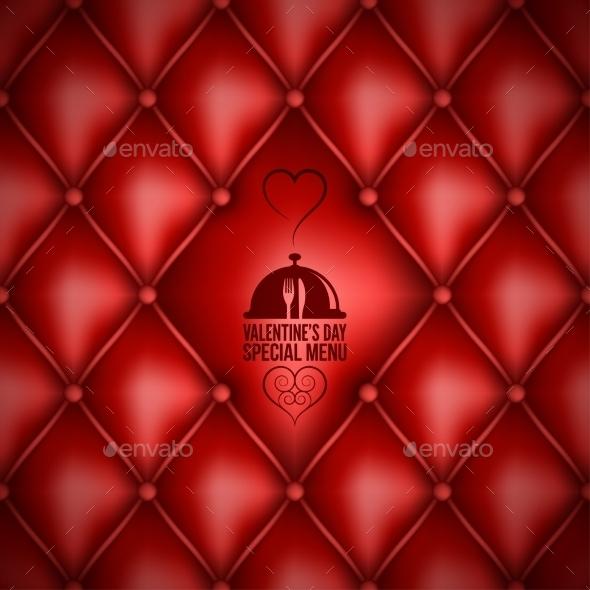 Valentines Day Menu Design - Valentines Seasons/Holidays
