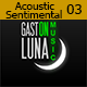 Acoustic Romantic and Sentimental 03  - AudioJungle Item for Sale