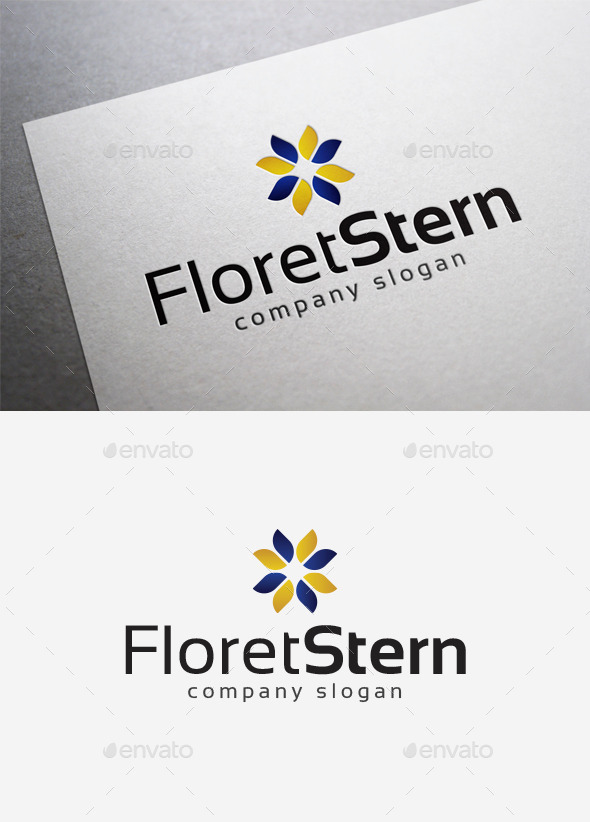 Floret Stern Logo - Abstract Logo Templates