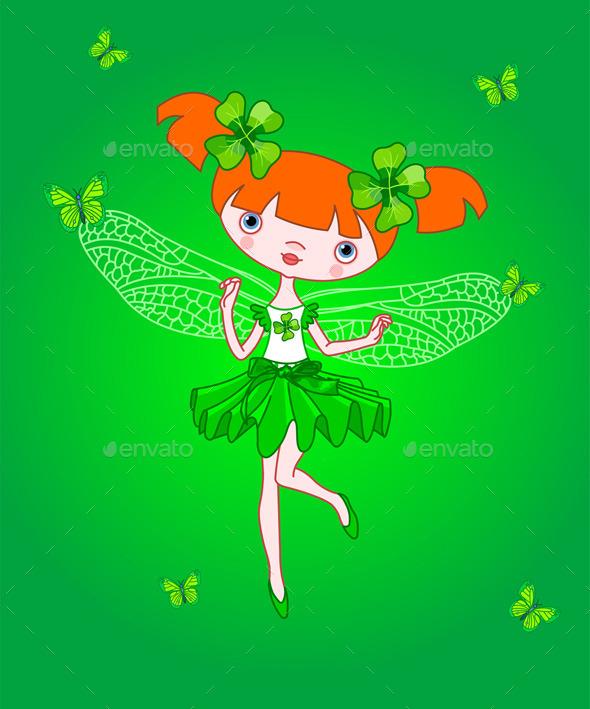 Clover Fairy - Seasons/Holidays Conceptual