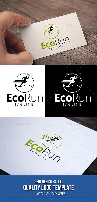 Eco Run Logo - Humans Logo Templates