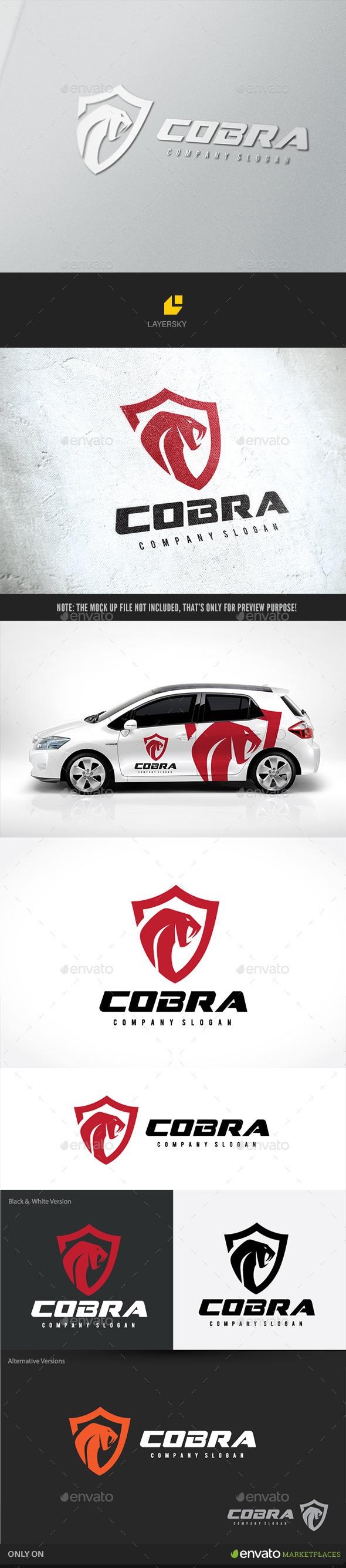 Cobra  - Crests Logo Templates