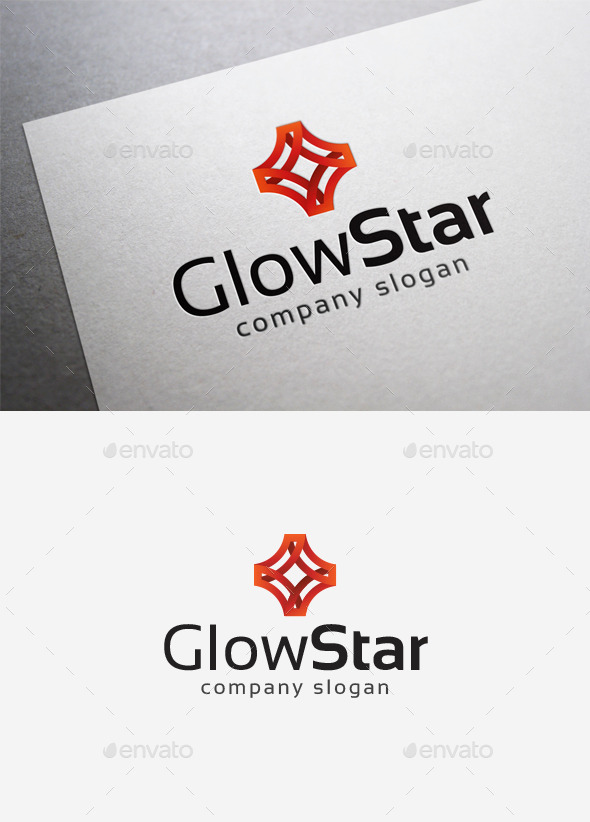 Glow Star Logo - Abstract Logo Templates