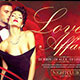 Love Affair Valentines Day Flyer  - GraphicRiver Item for Sale