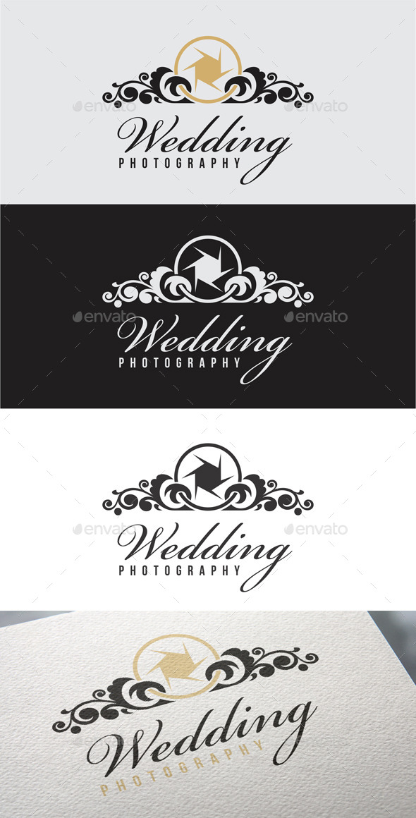 Wedding Photography Logo Templates - Objects Logo Templates