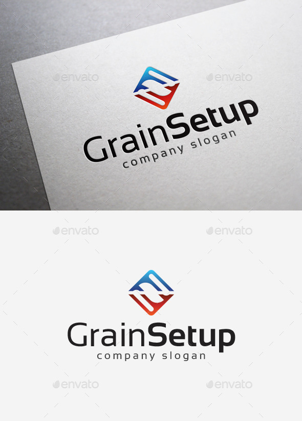 Grain Setup Logo - Abstract Logo Templates