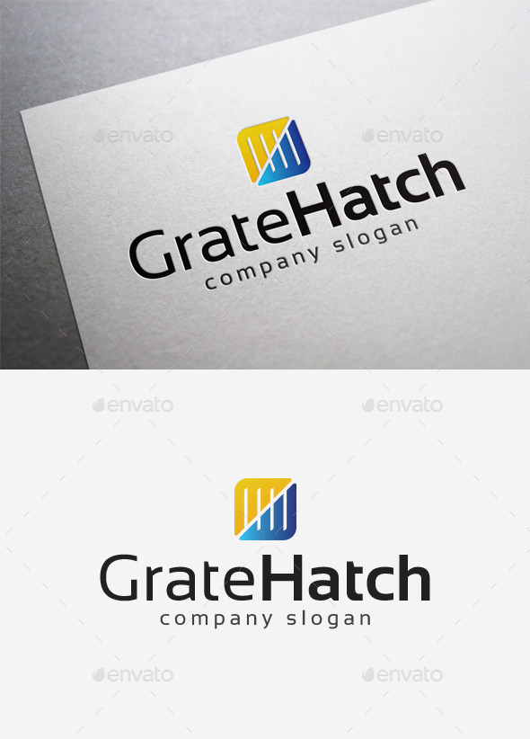 Grate Hatch Logo - Abstract Logo Templates
