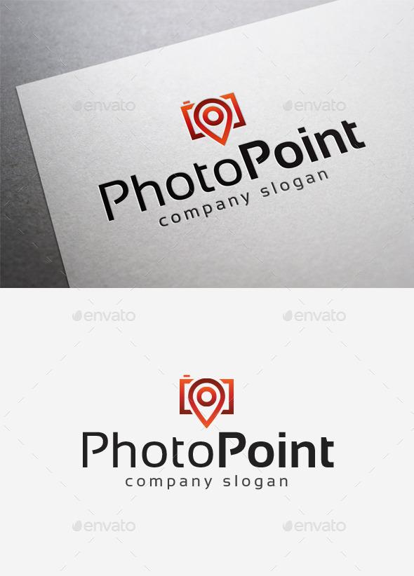 Photo Point Logo - Objects Logo Templates