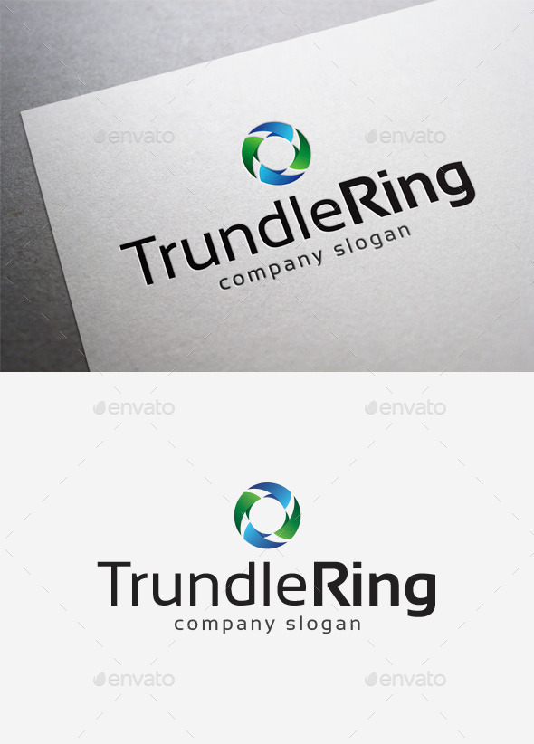 Trundle Ring Logo - Abstract Logo Templates