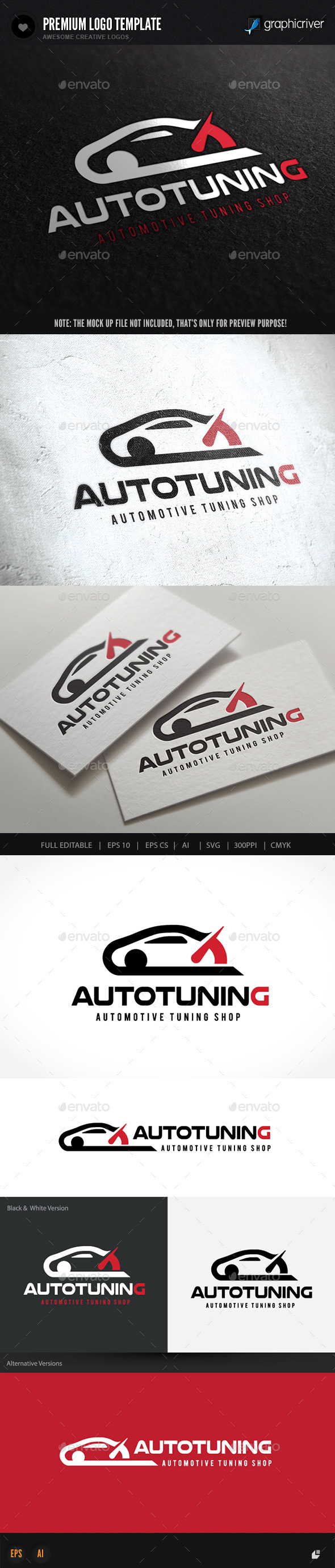 Auto Tuning - Objects Logo Templates