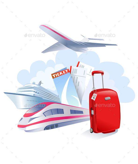 Travel Icon - Travel Conceptual