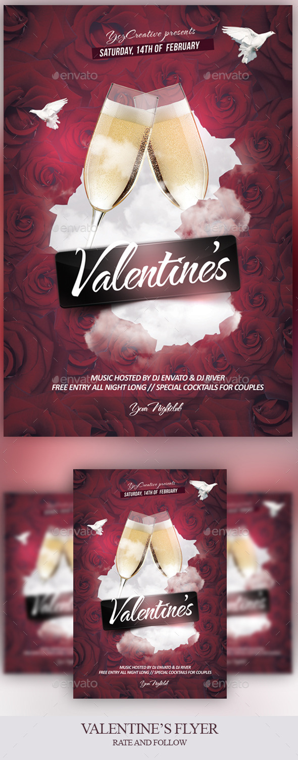 The Valentine's Effect - Events Flyers