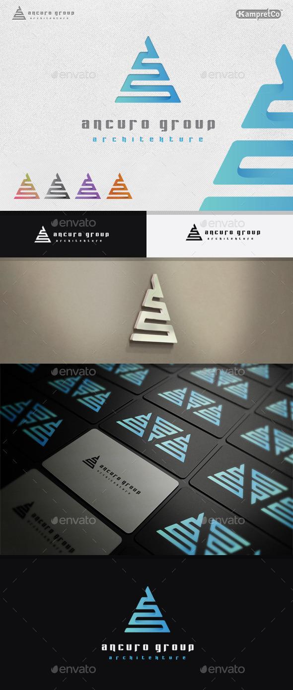 Architecture A Letter Logo - Letters Logo Templates