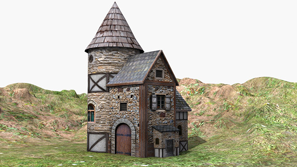 Medieval House - 3DOcean Item for Sale
