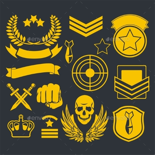 Special Unit Military Patches - Web Technology
