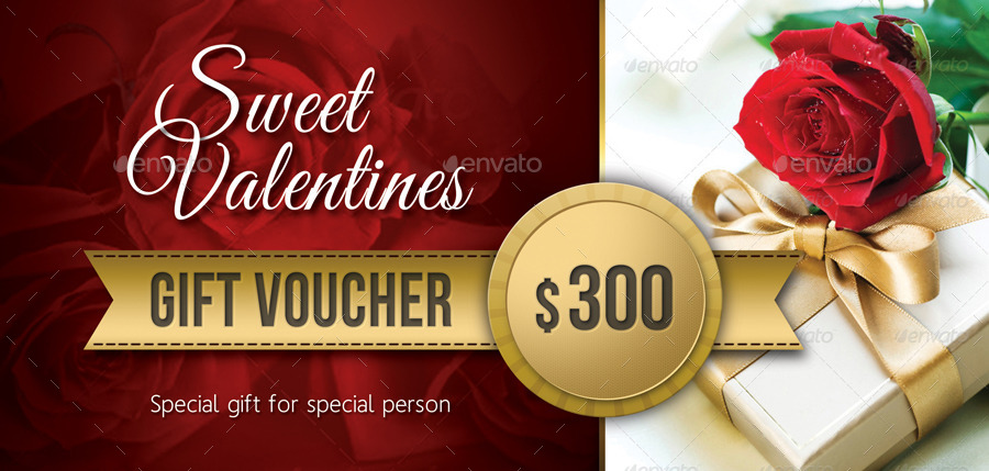3 In 1 Valentines Day Gift Voucher Bundle By Rapidgraf Graphicriver