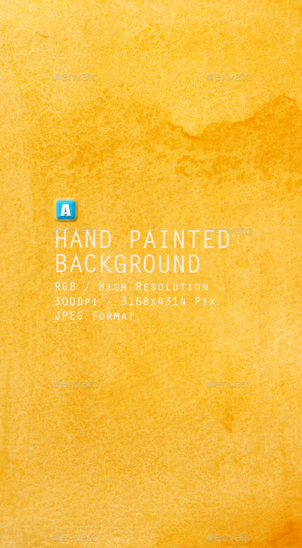 Hand Painted Background 0015 - Art Textures