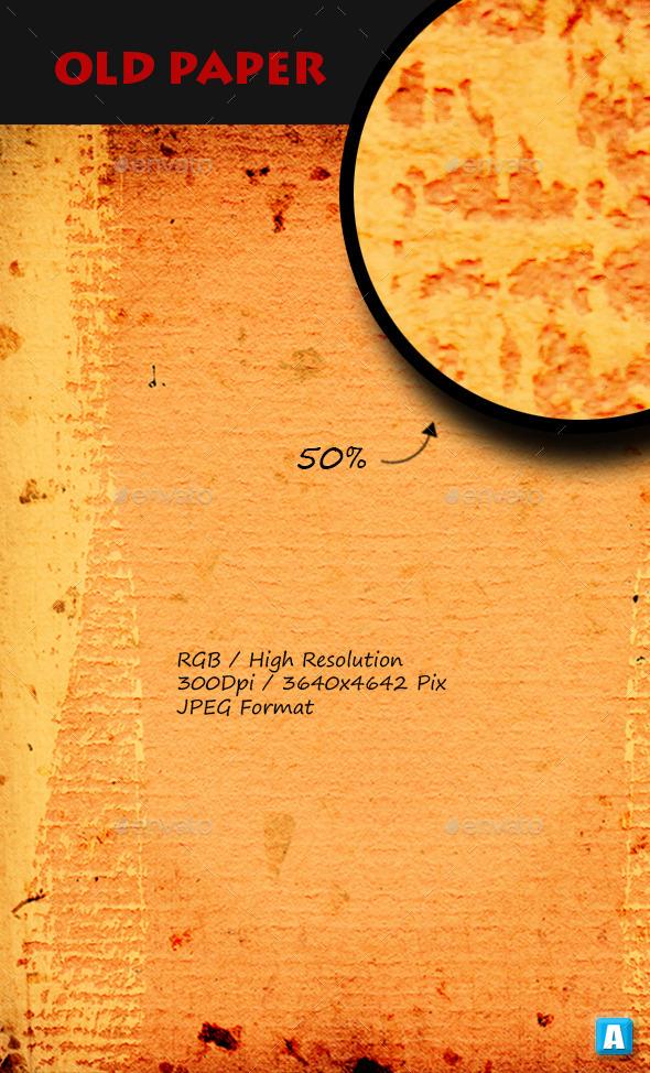 Old Paper Texture 0008 - Paper Textures