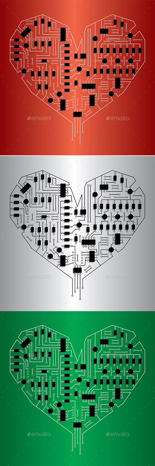 Electronic Heart - Computers Technology
