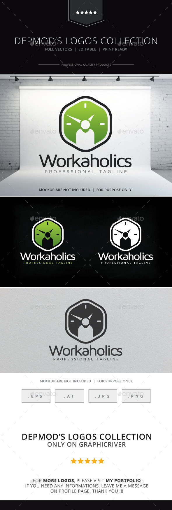 Workaholics Logo - Symbols Logo Templates