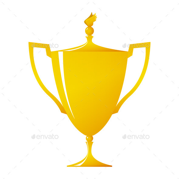 Gold Trophy - Objects Vectors