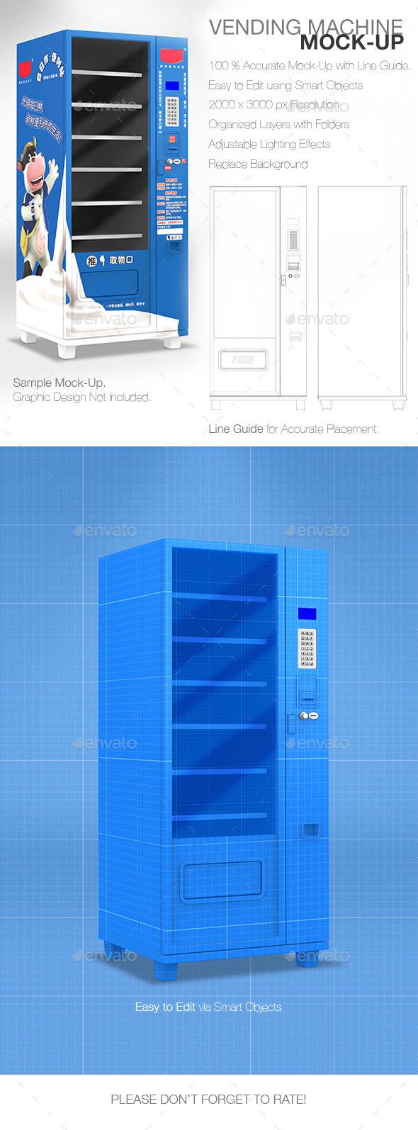 Mock-Up Vending Machine - Miscellaneous Print