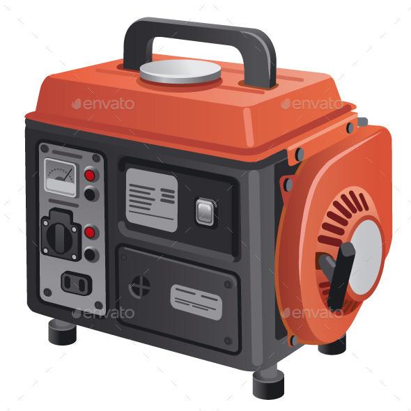 Mobile Generator - Vectors