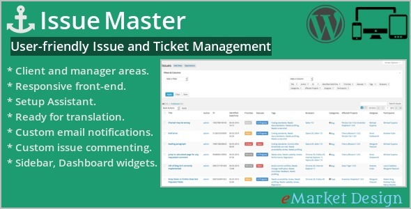 Issue Master - CodeCanyon Item for Sale