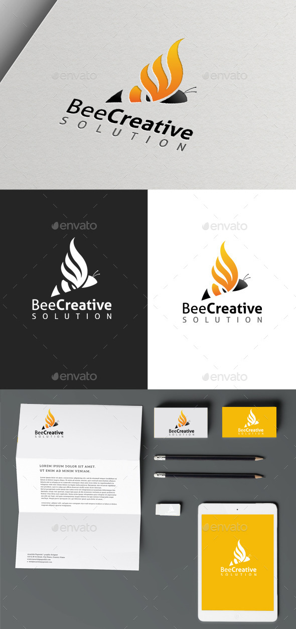 Bee Creative - Logo Templates