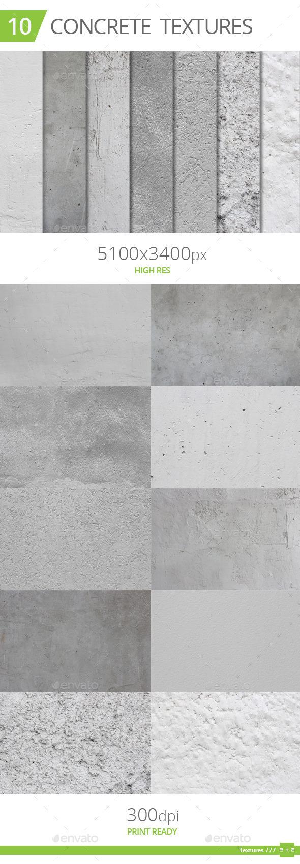 10 Concrete Textures - Concrete Textures