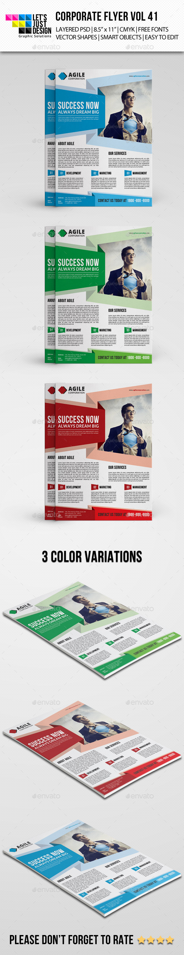 Corporate Flyer Template Vol 41 - Corporate Flyers