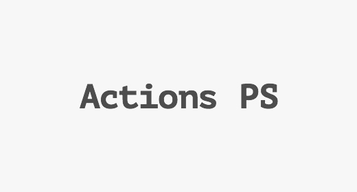 Actions PS