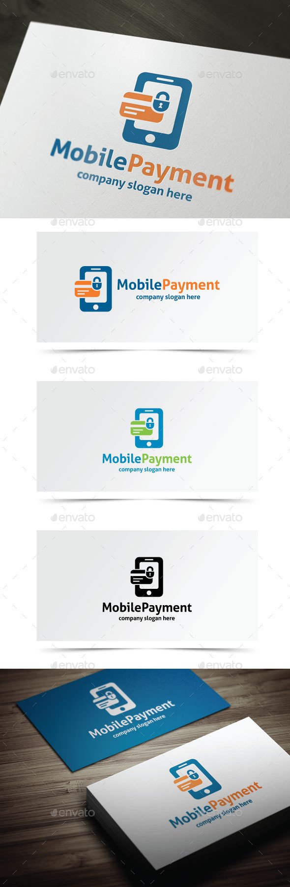 Mobile Payment - Objects Logo Templates