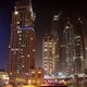 Futuristic Night Dubai Marina - VideoHive Item for Sale